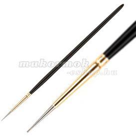 Díszítésre alkalmas toll - fa, fekete