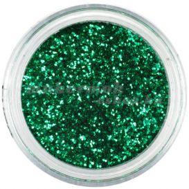 Nagy flitter - zöld