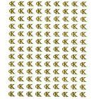 Arany 3D matricák, CALVIN KLEIN logó