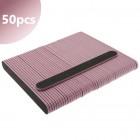 50db- Reszelő fekete rózsaszín középpel, 100/180 - egyenes