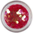 Világospiros hatszög - aquaelements