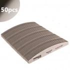 50db - Reszelő Profi Speedy Halfmoon zebra fekete középrésszel - 150/150