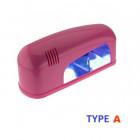 Élénk rózsaszín UV lámpa - 9W/műkörmös lámpa