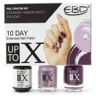 EBD Nail Creative Set - Stronger/Winsor Violet/Top Coat
