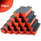 50db - 3-oldalú narancssárga-fekete tömb