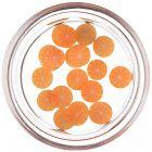 Fimo körömdísz - felvágott narancs