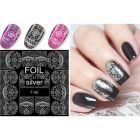 Luxus vizes matrica – Silver lacy Pattern