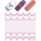 Luxus vizes matrica – Pink Lace