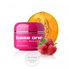 Base One Gel – Clear Raspberry Melon, 5g/műköröm építő zselé