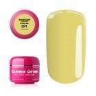 Gel Base One Pastel - Yellow 01, 5g