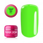 Gel Base One Neon- Green 07, 5g