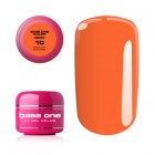 Gel Base One Neon- Medium Orange 10, 5g