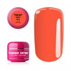 Gel Base One Neon- Dark Orange 11, 5g