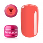 Gel Base One Neon- Medium Coral 13, 5g