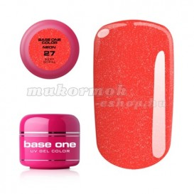 Gel Base One Neon - Sexy Coral 27, 5g