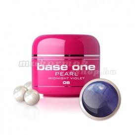 Gel Base One Pearl - Midnight Violet 08, 5g