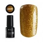Gél lakk - Color IT Premium Gold 2230, 6g/gél lakk készítés