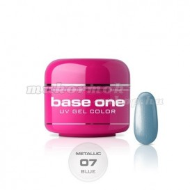 Gel Base One Color Metallic - Blue 07, 5g