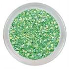 Foszforeszkálós csillámpor - Neon Green