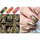 Luxus vizes matica – Gold Pattern