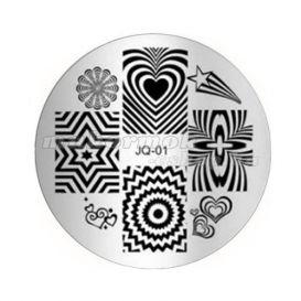 Pecsételő mintakorong - JQ-01