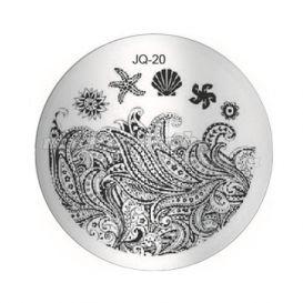 Pecsételő mintakorong - JQ-20