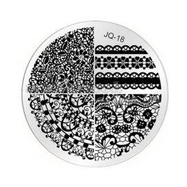 Pecsételő mintakorong - JQ-18