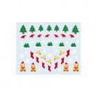 Körömmatrica karácsonyi mintákkal - 035