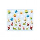 Körömmatrica karácsonyi mintákkal - 026