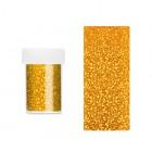 Körömdíszítő fólia - arany holografikus mintákkal