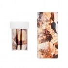 Körömdíszítő fólia - barna mintákkal