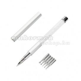 Díszítő toll tartalék fejekkel