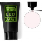 LED PASTE UV GEL PLATINUM - TRANSPARENT PINK, 30g