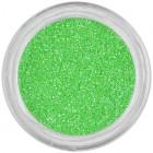 Körömdíszítő csillámpor – neon zöld