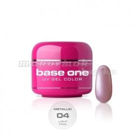 Gel Base One Metallic – Light Pink 04, 5g