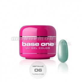 Gel Base One Metallic – Turquoise 06, 5g