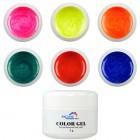 Glitteres, színes zselé szett - Fine, 6db