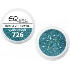 Extra Quality GLAMOURUS színes UV zselé - BOTTLE OF THE WINE 726, 5g