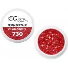 Extra Quality GLAMOURUS színes UV zselé - FEMME FATALE 730, 5g