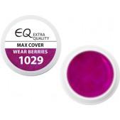 Extra Quality MAX COVER farebný UV gél - WEAR BERRIES 1029, 5g