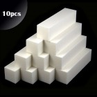 10db - 4-oldalú tömb, fehér - 100/100