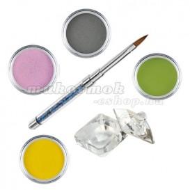 Pure II - színes porcelánpor készlet