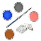 Pure I - színes porcelánpor készlet