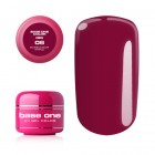 Gel Base One Color RED - Bubblegum Pink 06, 5g