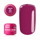 Gel Base One Color RED - Fushia Fusion 04, 5g