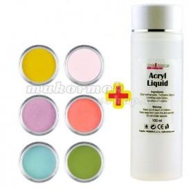 Base Color készlet 6db + Acryl Liquid 100ml INGYEN