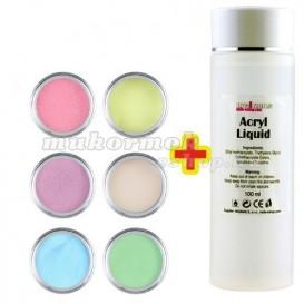 Pastel Color készlet 6db + Acryl Liquid 100ml INGYEN