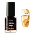 Nail art color Ink 12ml - barna