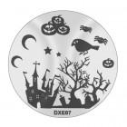 Pecsételő mintakorong DXE07 - Halloween