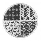 Pecsételő mintakorong DXE52 - Karácsony